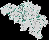 Belgium road map