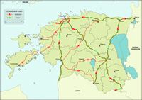 Estonia road map