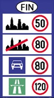 Finland speed limits
