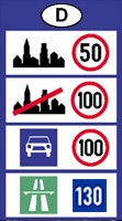Germany speed limits