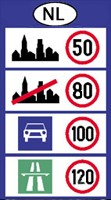 Nederland speed limits
