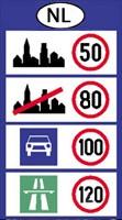 Nederland speed limits